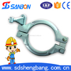 Forging High Quality Concrete Pump Coupling Cast Iron Pipe Clamp China Supplier