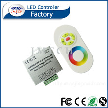 2016 Hot sales JMECH 5mm width led strip rgb led lamp remote control Aluminum shell RF Touch 5 keys RGB Controller