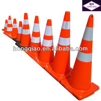 90cm traffic flexible softy pvc cones high saling