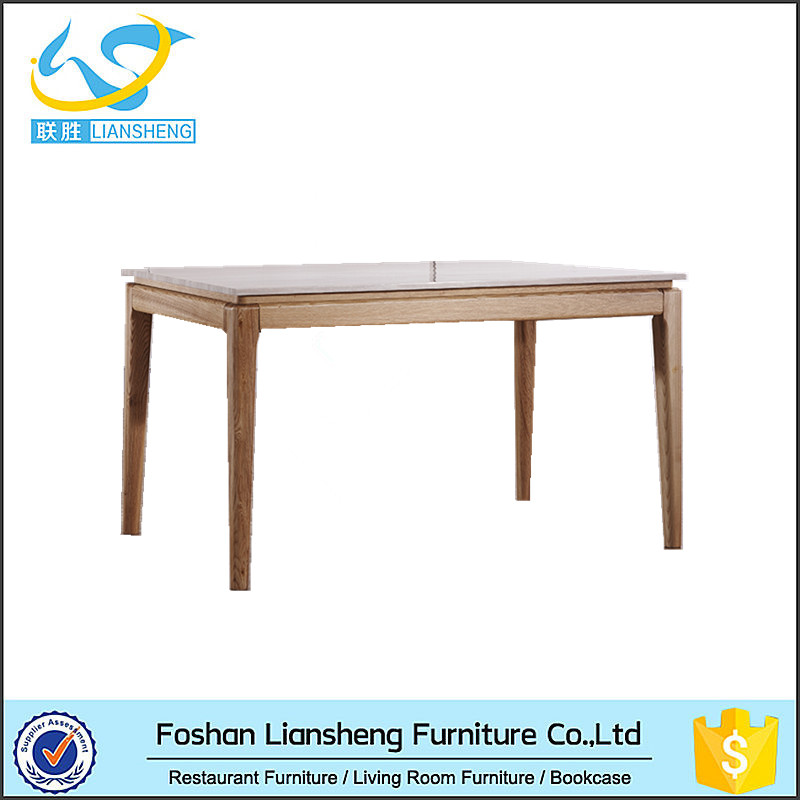 Marble Top Solid Wood Legs Dining Table For Home  : Marble Top Solid Wood Legs Dining Table from www.alibaba.com size 800 x 800 jpeg 95kB
