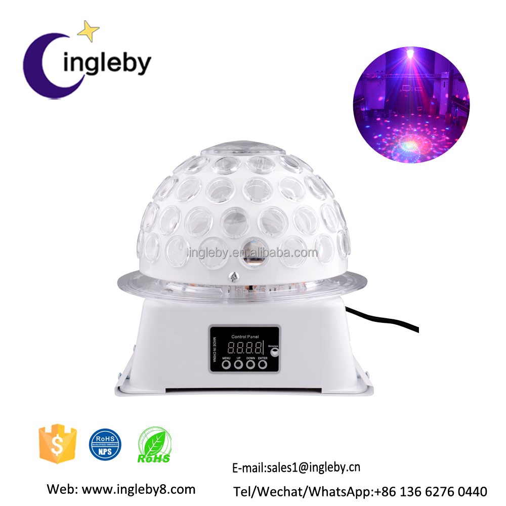 latest product universe led rgbw special effect round ball laser light