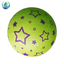 7''8.5'' rubber playground ball/ kickball or dodgeball / Outdoor Soft rubber playground balls, water ball ball indoor playground