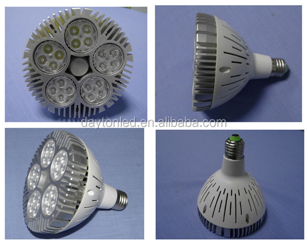 Shenzhen DAYTON high lumen E27 base brand chips indoor light 60W led PAR38 light