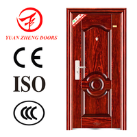 China popular fancy steel door design