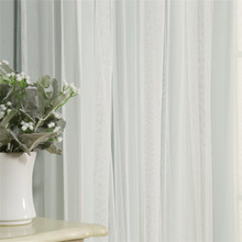 Hotel linen windows curtain light and noise blocking curtains high quality printed wire mesh shower