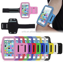 Adjustable SPORT GYM Armband Bag Case for apple iPhone 6 Plus Waterproof Jogging Arm Band Mobile Phone Belt Cover 5.5 inch phone