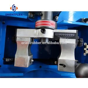 Reliable hydraulic ce hose cutting cum skiving machine RT-65F maker