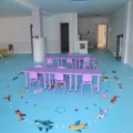 Indoor children playground customized image PVC flooring