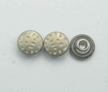 High quality custom rivet logo button wholesale