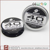 Best Nichrome 80 heating wire 22GA to 44GA in tin package for Ecig