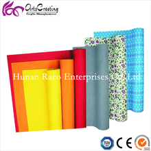 Hot!!!self design and man color felt in roll for handicraft