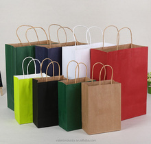 Custom Printed Paper Packaging Bags
