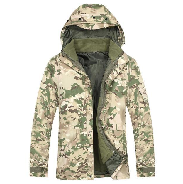 ESDY outdoor G8 Three in one windbreaker jacket, warm winter camouflage clothing,Battlefield jacket military camouflage clothing
