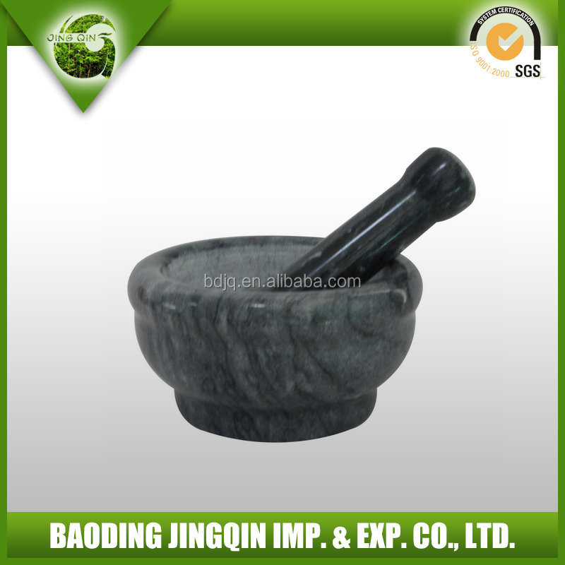 very popular black marble herb and spice grinder