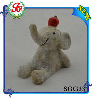 SGG33 Home Decor Cute Elephant Small Cheap Animal Figurines
