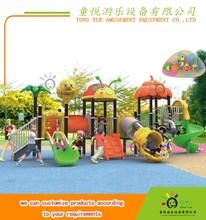 LLDPE Galvanized steel kids outdoor play center playsets