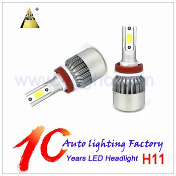Factory price CAR LED HEADLIGHT high quality H11 C6 36W