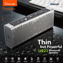 Portable mini wireless bluetooth stereo woofer speaker rechargeable