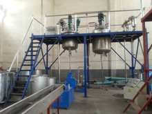 Complete plant for latex paint(annual output 2000 tons)
