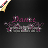 Dance with Stars Bling Crystal Custom Made Hot fix Transfers