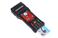 android EFT all in one pos/PDA/handheld with RFID/NFC/thermal printer P9000 for bank/financial/cash collect