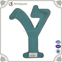 cheap mdf y wood letter , alphabet letter wall decoration