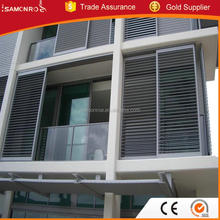 Sliding door and window aluminum shutter