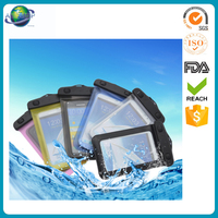 Wholesale high quality waterproof pvc heat-sealed phone pouch
