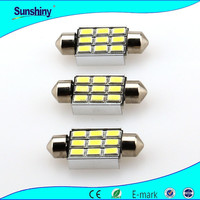 Cheap but High Quality c5w festoon canbus 9smd 5630 Auto LED License Plate Lights