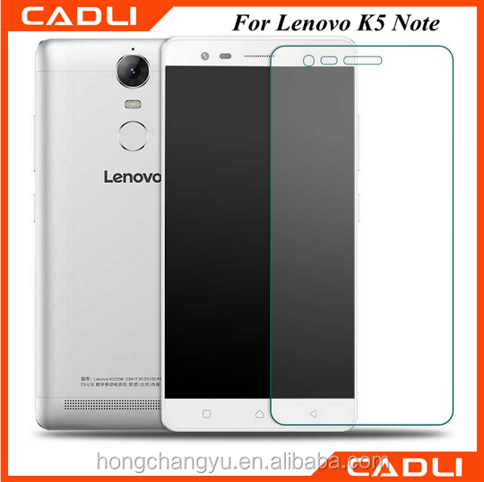 new arrival factory price 9H 2.5D for Lenovo K5 note tempered glass screen protector