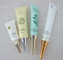 5g 10g 15g 20g cream packaging tube with needle nose metal horn small plastic soft tube with long nozzle Eye GEL tube packaging