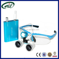 Loupes 2.5x to dentistry dental surgical magnification loupes