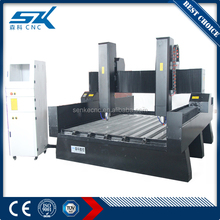 Carving 3d monuments granite marble stone cutting machine price SKS-1325 cnc stone engraving machine