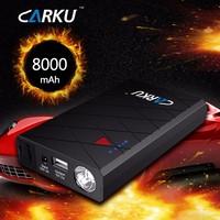 8000mAh emergency tool kit, portable multi-function car battery jump starter power bank
