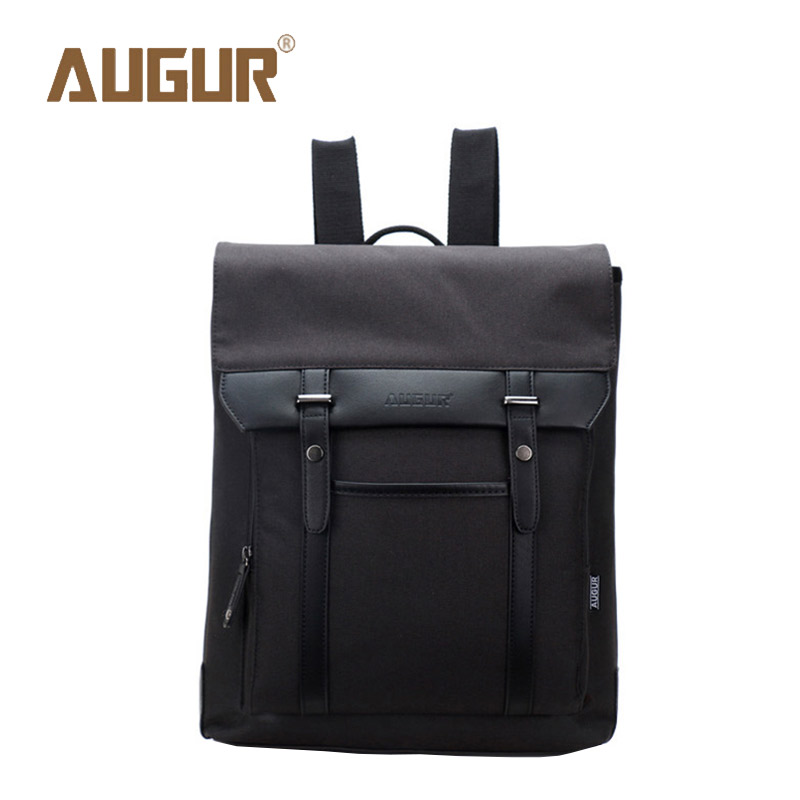 AUGUR Brand New Fashion School Bags For Teenagers Leisure Canvas Crazy Horse Backpacks Girls Backpack Men