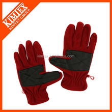 Women polar fleece gloves with thinsulate lining