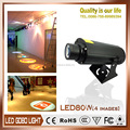 four image rotating around another 12000 lumens gobo projector light LED 80G4