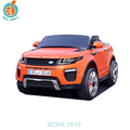 Hot selling suv, with music and led light for car battery double door open, four wheel suspension wheel car WDHL1618