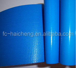 PVC coated 1000d polyester tarpaulin for swimming pool