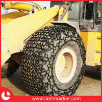 Forging tire protection chain