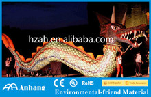 Giant Inflatable Red Dragon for Festival Outdoor Decoration