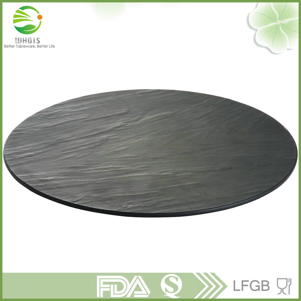 China Top Ten Selling Products Slate Stone Dinner Plates Wholesale