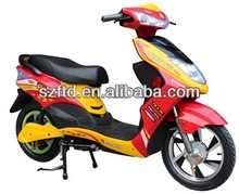 electric motorcycle with front disc brake for adults at rural and urban area
