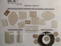 Mica spacers