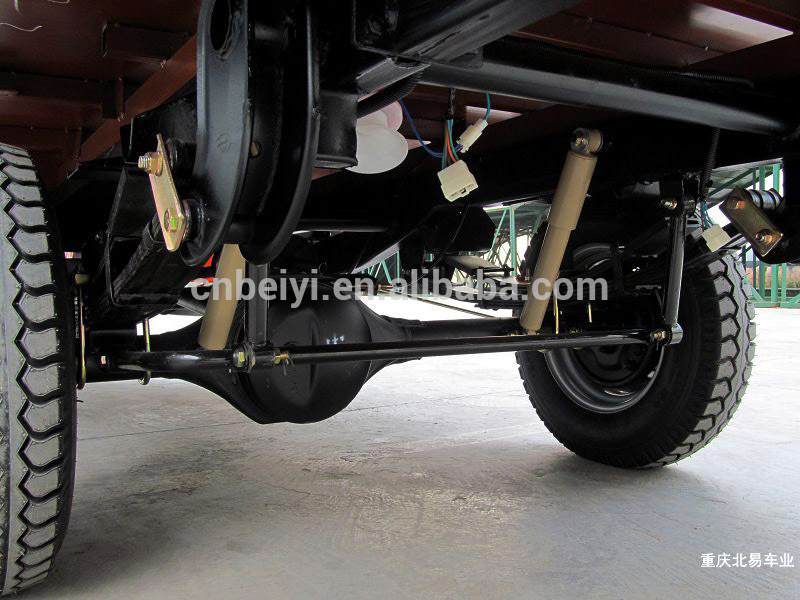 Cargo Tricycle 3 speed electric motor driving rear axle factory with CCC ISO certificate