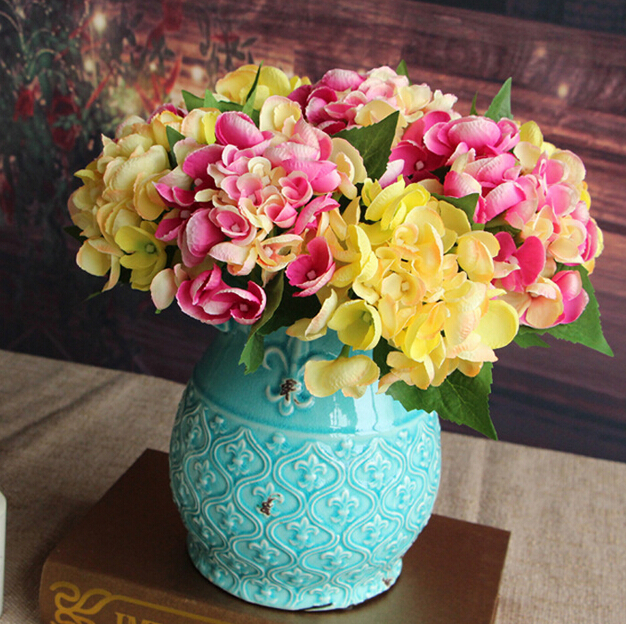 GNW FL-HY30-11wholesale artificial hydrangea flowers with good price