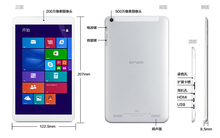 8 inch IPS Onda V819W windows 8.1 tablet pc computer/super smart tablet pc/super slim tablet pc