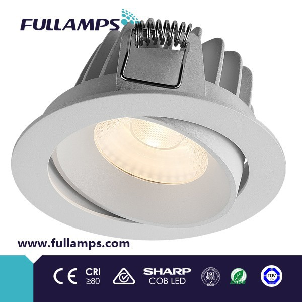 Fullamps FR1076W adjustable 10w cob <strong>downlight</strong> led,dimmable led light