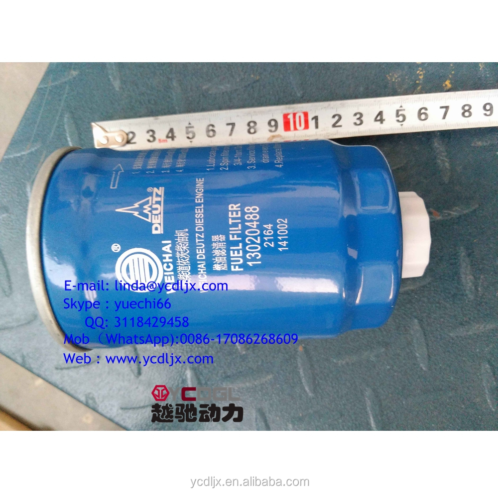 Fuel Filter 1302048813022658 For Weichai Deutz Td226b Engine Spare Filters Part Buy Product On