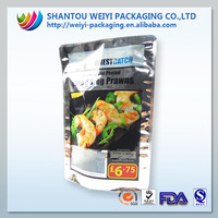 hot chicken aluminum foil bag/aluminum foil high-temperature cooking bags/stand up liquid bag packaging